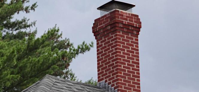 Réparation de cheminée extérieur