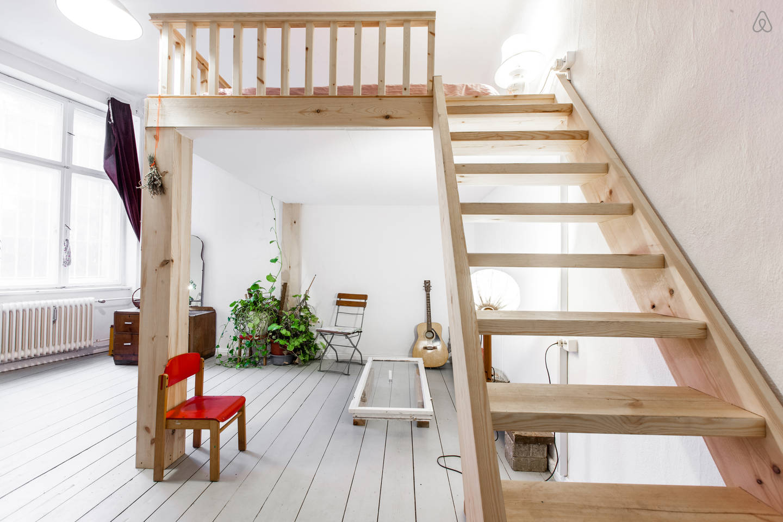 Devis construction d une mezzanine 3 devis gratuits - Construire une mezzanine en bois ...
